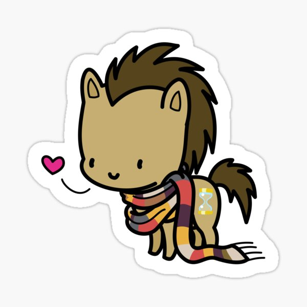 Doctor Whooves chibi Sticker