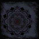 Mandala Black by Sonja Kallio