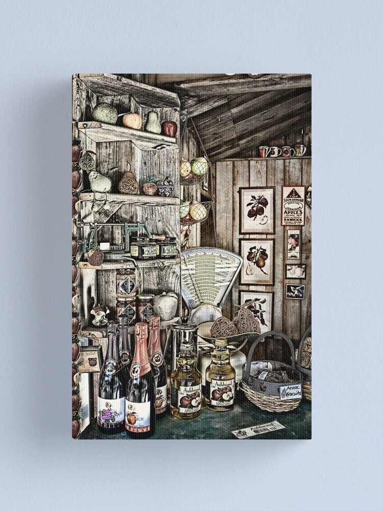 Alternate view of Yesteryear. Canvas Print