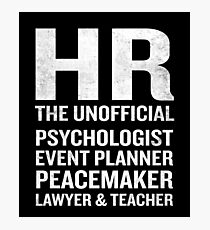 Hr Quote Wall Art Redbubble