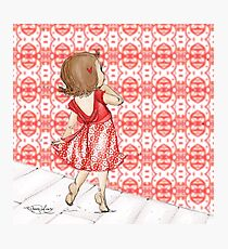 Little Red Dancer Photographic Print