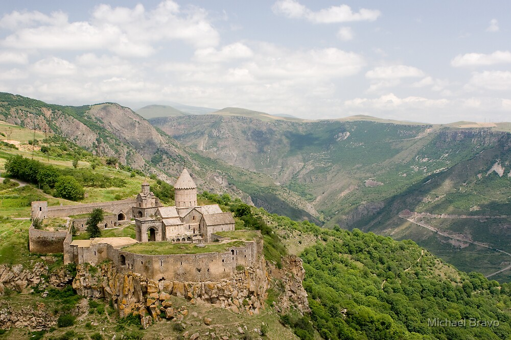 Tatev monastery, Armenia by Michael Bravo