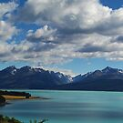 Mount Cook - From Lake Pukaki, New Zealand by Paul Gilbert