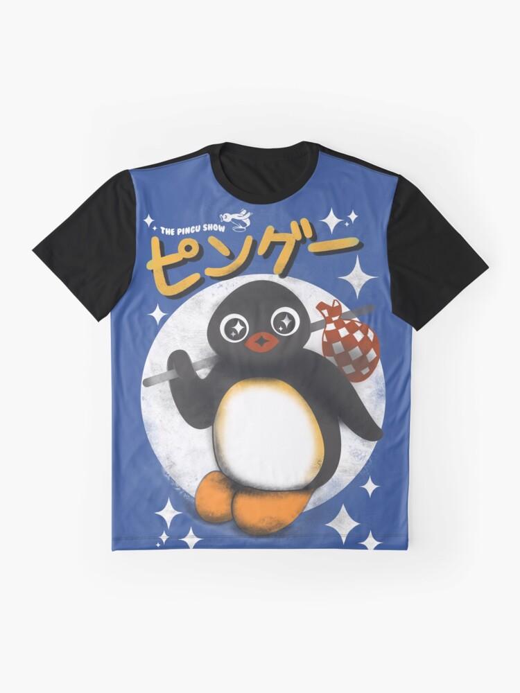 Alternative Ansicht von Die Pingu Show Grafik T-Shirt