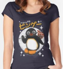The pingu show Women's Fitted Scoop T-Shirt