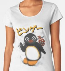The pingu show Women's Premium T-Shirt
