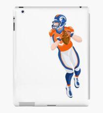 American Football Player Vector Illustration iPad Case/Skin