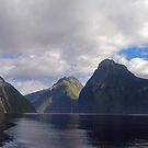 Milford Sound - New Zealand by Paul Gilbert