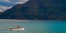 Steamship TSS Earnslaw - Queenstown New Zealand by Paul Gilbert