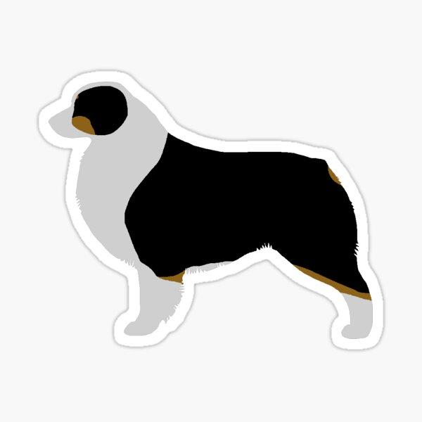 Australian Shepherd (Black Tri) Sticker