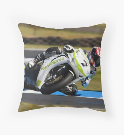 Carlos Opens Up  Throw Pillow