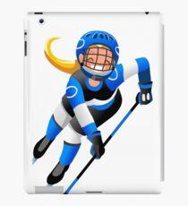 Hockey Vector Cartoon Girl Icon   iPad Case/Skin
