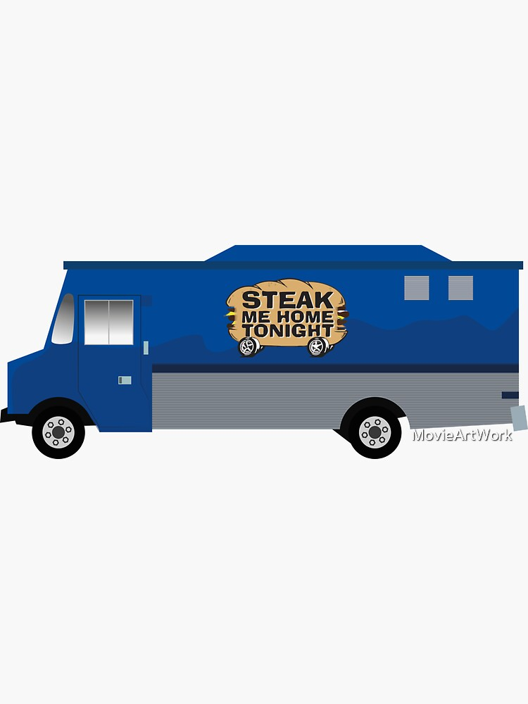 Happy Endings Steak me Home Heute Abend foodtruck von MovieArtWork