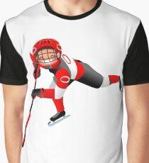 Hockey Vector Cartoon Boy Icon   Graphic T-Shirt