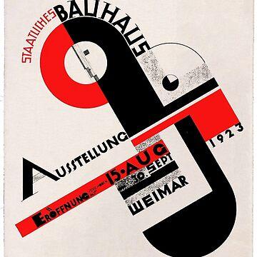 Bauhaus poster by ZiggyHali