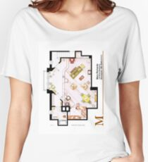 Mary Richards apt. from The Mary Tyler Moore Show Women's Relaxed Fit T-Shirt