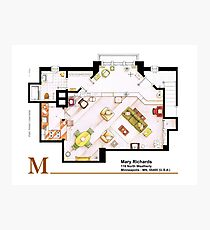 Mary Richards apt. from The Mary Tyler Moore Show Photographic Print