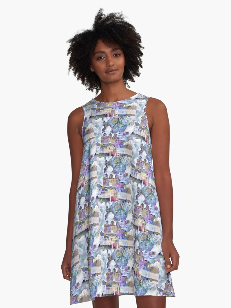 paleparnell A-Line Dress Front