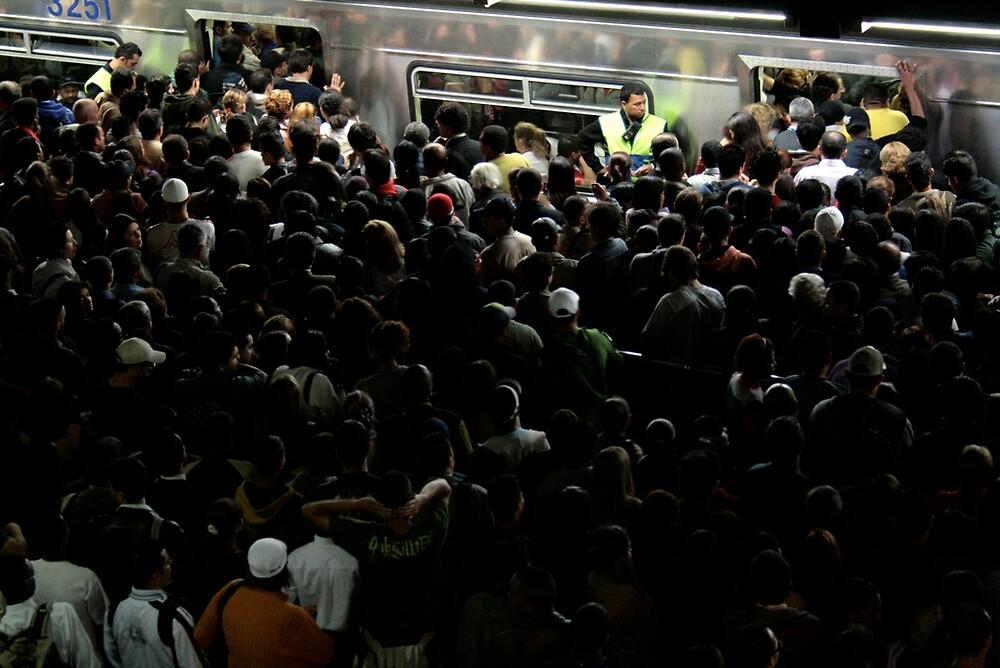 Rush time in Sao Paulo city by Ricardo Santos