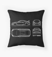 The GT86 Blueprint Floor Pillow