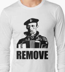 Remove Kebab - Accordion Long Sleeve T-Shirt