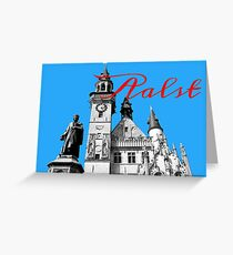 Icons of Aalst Souvenir Greeting Card