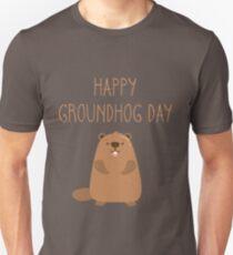 2019 Happy Groundhog Day Unisex T-Shirt