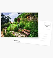 bilbo baggins home Postcards