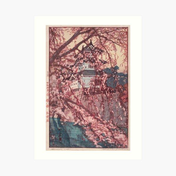 Hirosaki Schloss - Yoshida Hiroshi Kunstdruck