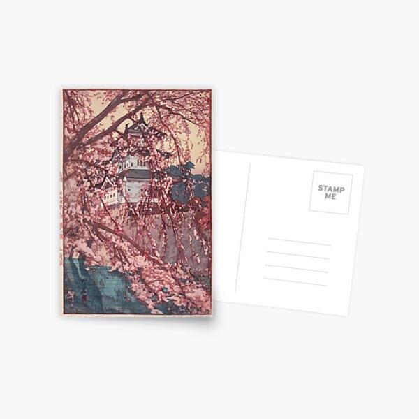 Hirosaki Castle - Yoshida Hiroshi Postcard