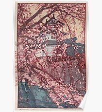 Hirosaki Schloss - Yoshida Hiroshi Poster