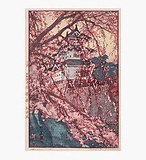Hirosaki Castle - Yoshida Hiroshi Photographic Print