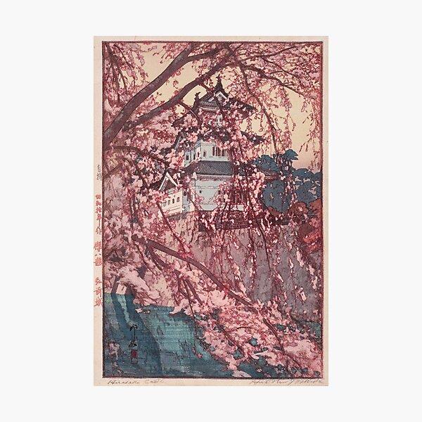 Castillo de Hirosaki - Yoshida Hiroshi Lámina fotográfica