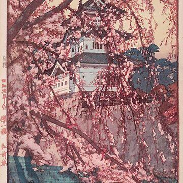 Hirosaki Castle - Yoshida Hiroshi by Mr-Raindrop