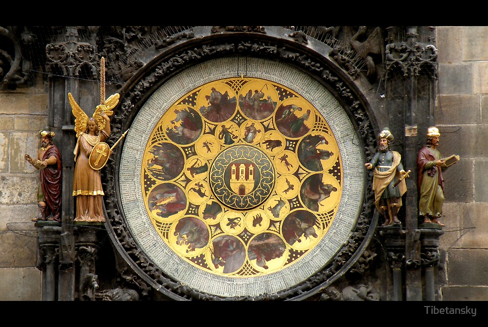 Prague Astronomical Clock by Tibetansky