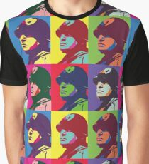Mussolini Parody - Andy Warhol Graphic T-Shirt