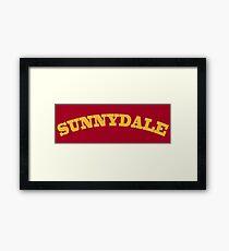 Sunnydale Gym Framed Print