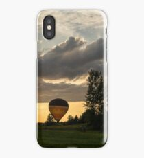 Summer Sunset with Balloons and Bicycles iPhone Case/Skin