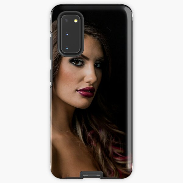 August Ames T-shirt rest in peace rip Samsung Galaxy Tough Case