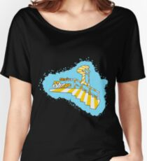 Stairs Slider Women's Relaxed Fit T-Shirt