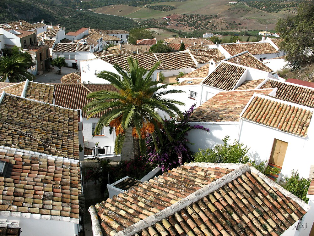Rooftops by jacqi