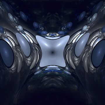 Chaos Theory: The Butterfly Effect - Digital Fractal Art by SniperFox