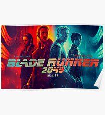 Blade Runner 2049 Orange / Blue Poster