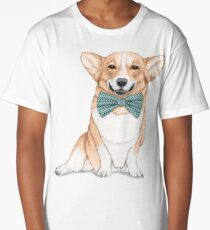 Corgi Dog Long T-Shirt
