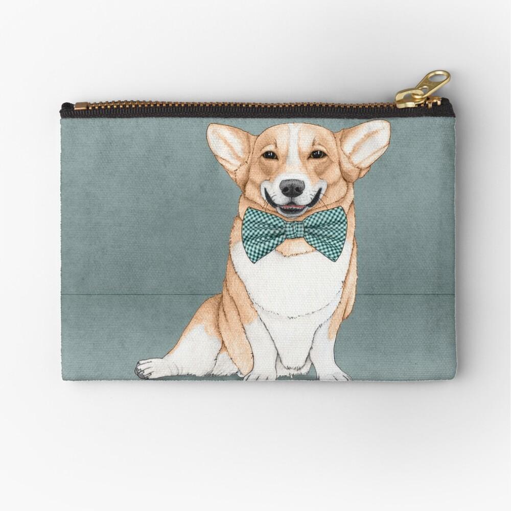 Corgi Dog Zipper Pouch