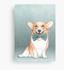 Corgi Dog Metal Print