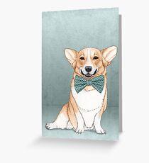 Corgi Hund Grußkarte