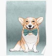 Corgi Dog Poster