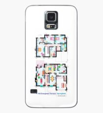 House of Simpson family - Both floors Case/Skin for Samsung Galaxy