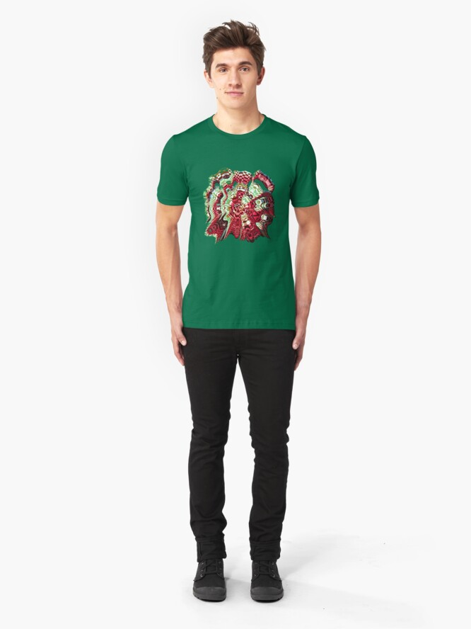 Alternate view of Extraterrestrial Portal Slim Fit T-Shirt